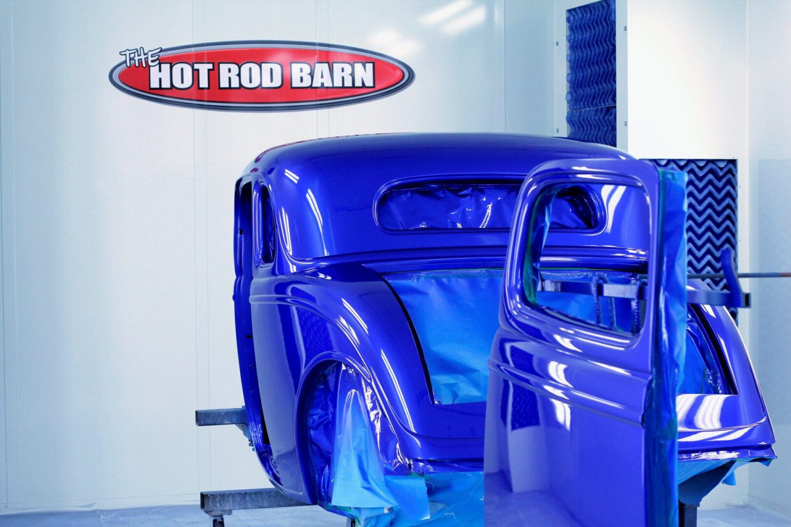 1934 Ford Paint Booth The Hot Rod Barn