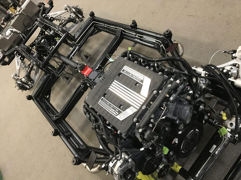C2 Custom Corvette Chassis